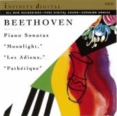 "Beethoven: Piano Sonatas ""Moonlight,"" ""Les Adieux,"" ""Pathétique"""