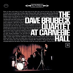 The Dave Brubeck Quartet at Carnegie Hall