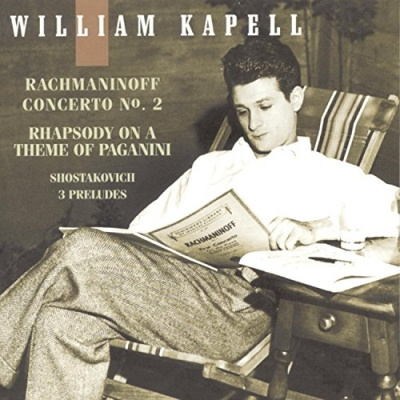 Rhapsody on a Theme of Paganini (Introduction and 24 Variations), for piano & orchestra in A minor, Op. 43