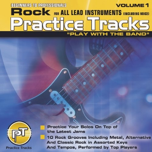 Practice Tracks: Rock for All Lead Instruments, Vol. 1