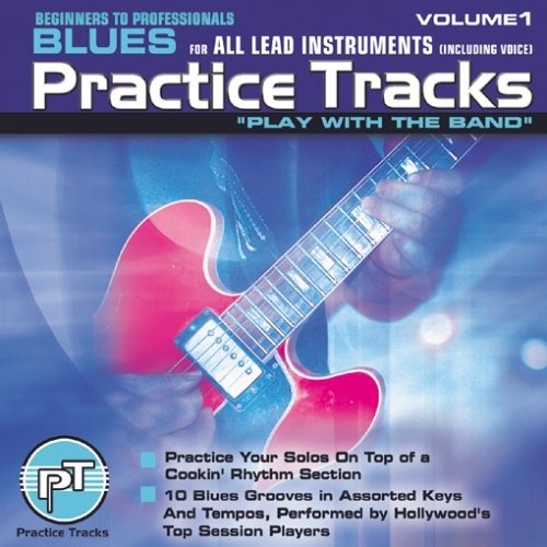 CD Practice Tracks: Blues for All Lead Instruments, Vol. 1