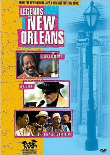 Legends of New Orleans [Video/DVD]