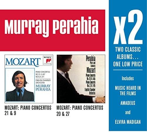 Murray Perahia x2: Mozart Piano Concertos Nos. 21, 9, 20 & 27