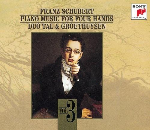 Schubert: Piano Music for Four Hands, Vol. 3