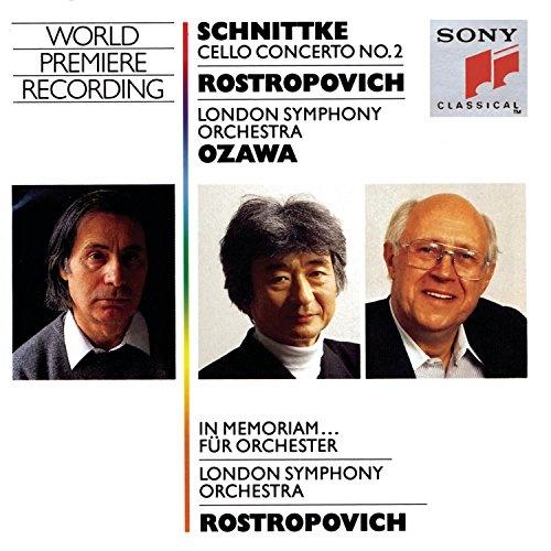 Schnittke: Cello Concerto No. 2; In Memoriam