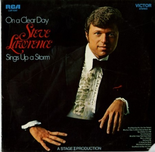 On a Clear Day: Steve Lawrence Sings Up A Storm