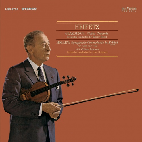 Glazunov: Violin Concerto in A minor, Op. 82; Mozart: Sinfonia Concertante in E flat, K.364