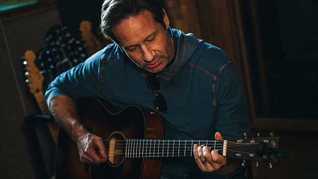 David Duchovny, No Stranger To Character Studies, Puts Them To Music