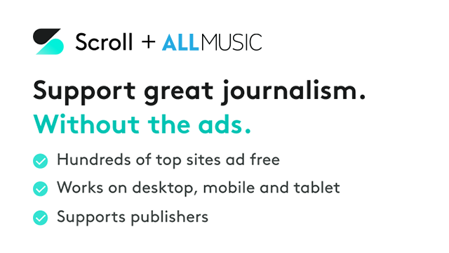 Support AllMusic and Remove Ads with Scroll