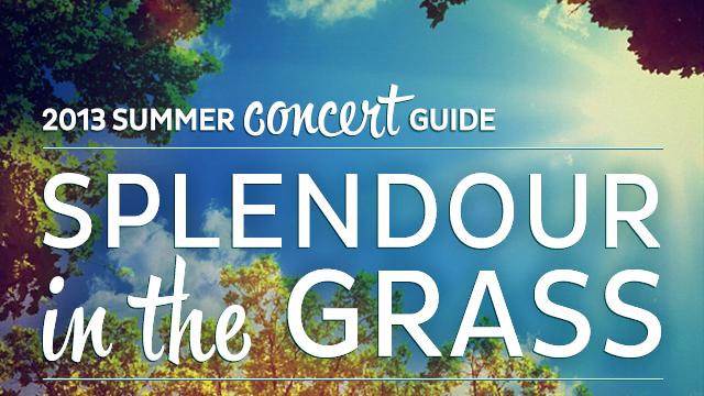 2013 Summer Concert Guide: Splendour in the Grass