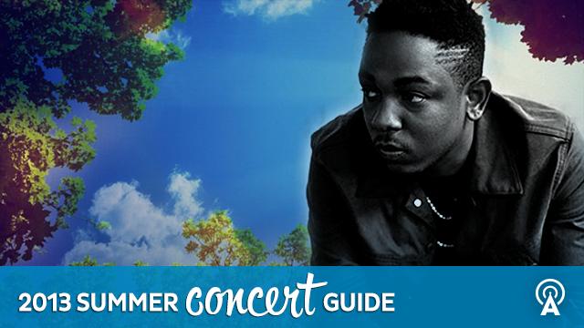 2013 Summer Concert Guide: Kendrick Lamar