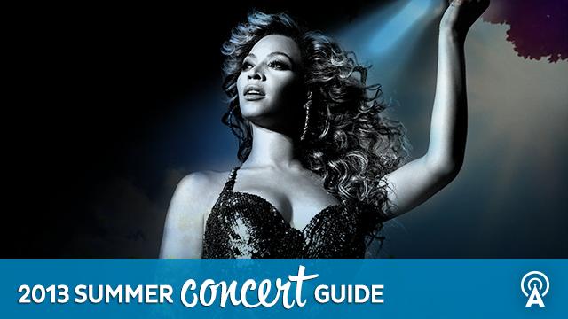 2013 Summer Concert Guide: Beyoncé