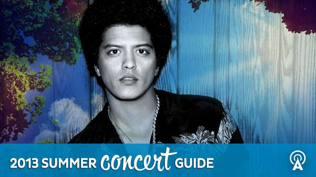 2013 Summer Concert Guide: Bruno Mars