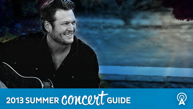 2013 Summer Concert Guide: Blake Shelton
