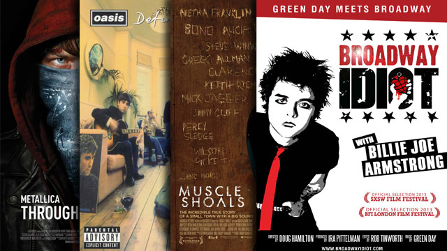 AllMusic Watches: Rock Docs on Oasis, Muscle Shoals, Green Day on Broadway and More