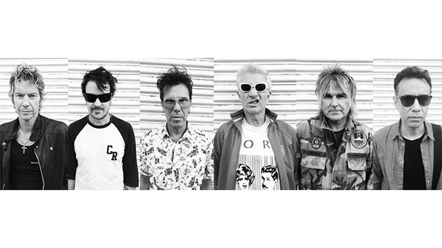 Album Premiere: Dead Men Walking (the Damned, the Alarm, Stray Cats, the Living End), 'Easy Piracy'
