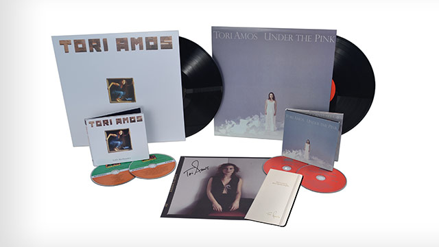 Giveaway: Tori Amos' First Two Albums, Expanded and Remastered, a Signed Print and Custom Journal