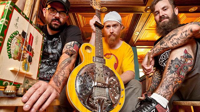 Album Premiere: Left Lane Cruiser Hail the Leaf on 'Dirty Spliff Blues'