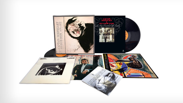 Giveaway: Captain Beefheart's 'Sun Zoom Spark,' a Four-Disc Set of Early 70s Material