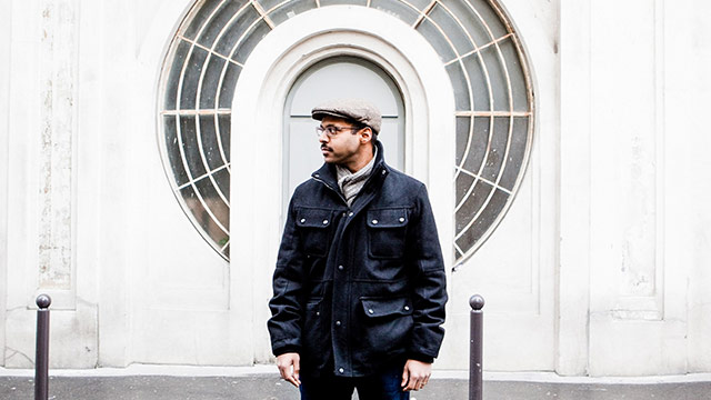 """Song Premiere: Bhi Bhiman's """"Moving to Brussels,"""" Remixed by John Dragonetti of the Submarines"""