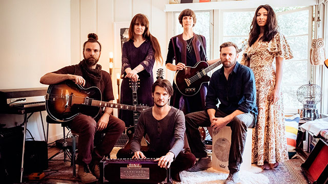 Album Premiere: High Desert Fires Revisit the Heyday of Topanga Canyon on 'Light is the Revelation'