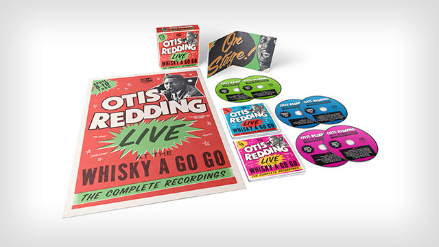 Giveaway: Otis Redding, 'Live at the Whisky a Go Go: The Complete Recordings'