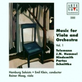 Music for Viola and Orchestra, Vol. 1