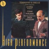 Tchaikovsky & Sibelius: Violin Concertos; Dvorák: Romance
