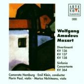 Mozart: Divertimenti; Sinfonia Concertante