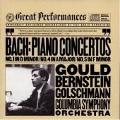 Bach: Keyboard Concertos Nos. 1, 4 & 5