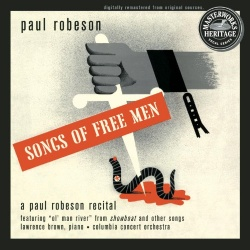 Paul Robeson - Songs of Free Men: Recital