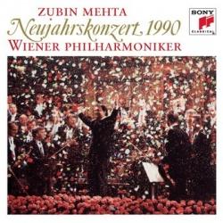 Zubin Mehta / Wiener Philharmoniker - New Year's Concert, 1990