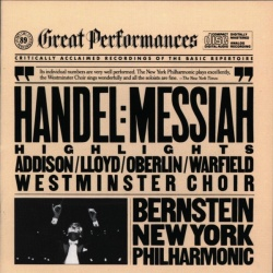 Leonard Bernstein - Handel: Messiah (Highlights)
