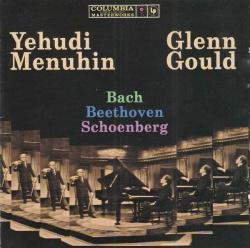 Glenn Gould - Yehudi Menuhin, Glenn Gould play Bach, Beethoven, Schoenberg