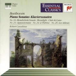 Robert Casadesus - Beethoven: Moonlight/Les Adieux/Appassionata/A Thérèse