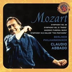 Claudio Abbado - Mozart: Symphony No. 25; Symphony No. 31