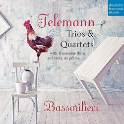 Bassorilievi - Telemann: Trios & Quartets with Transverse Flute and Viola da Gamba