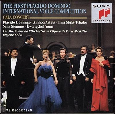 Premier Concours International de Voix d'Opera Placido Domingo: Paris 1993