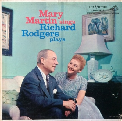 Mary Martin Sings Richard Rodgers Plays