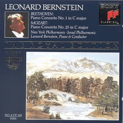 Bernstein Plays and Conducts Beethoven: Piano Concerto No. 1/Mozart: Piano Concerto