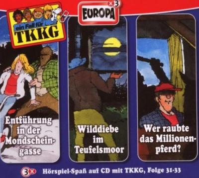 Die 11 TKKG-Box/3er Box Folge 31-33