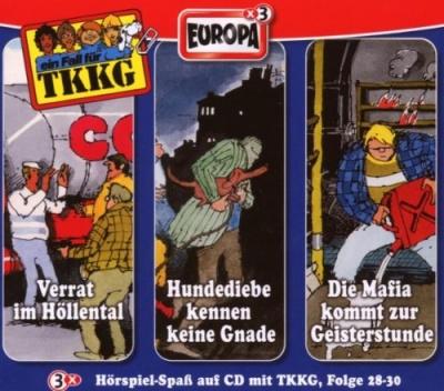 Die 10 TKKG-Box/3er Box Folge 28-30