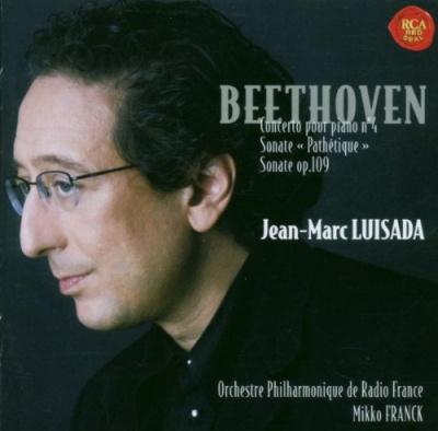 "Beethoven: Concerto pour Piano No. 4; Sonate ""Pathétique""; Sonate Op. 109"