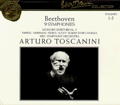 Arturo Toscanini Collection, Vol. 1-5: Beethoven - 9 Symphonies, Etc.