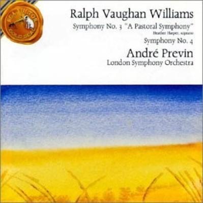 Vaughan Williams: Symphony Nos. 3 & 4