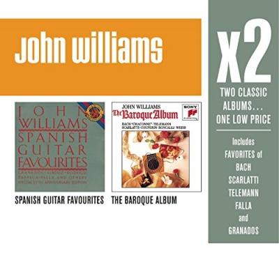 John Williams X2: Spanish Guitar Favourites / The Baroque Album