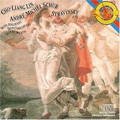 Stravinsky: Suite Italienne; Duo Concertant; Divertimento
