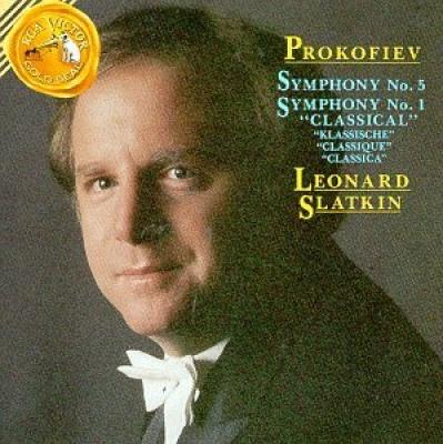 Sergei Prokofiev: Symphony No. 5; Symphony No. 1