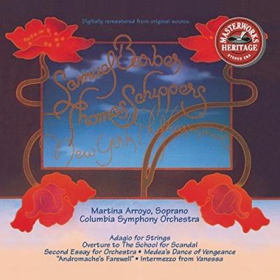Columbia Symphony Orchestra & New York Philharmonic Play Barber; Menotti...