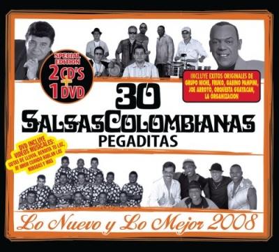 30 Salsas Colombianas Pegaditas